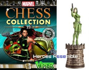 Marvel Chess Collection #22 Viper Eaglemoss Publications